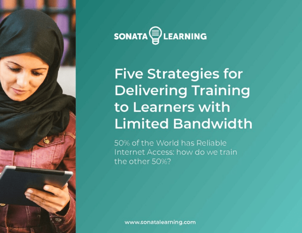 Five Strategies for Delivering Training to Learners with Limited Bandwidth